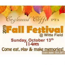 Englewood Cliffs PTA 2019 Annual Fall Festival Is Seeking Corporate Sponsorships